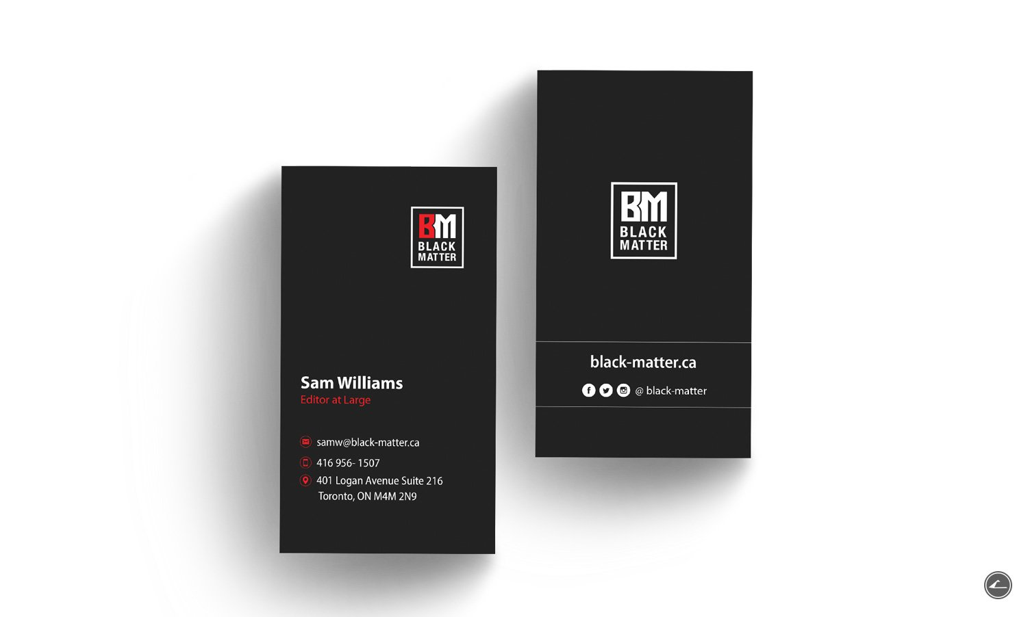 Black-matter_business-card2
